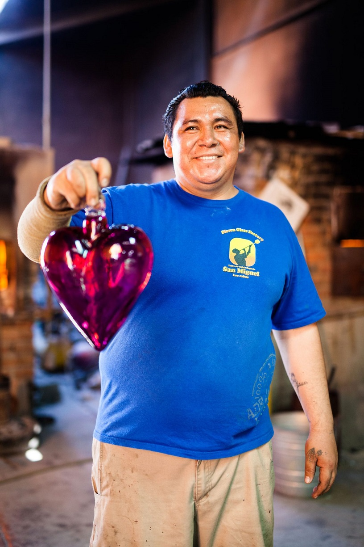 Glass-Blown Hearts