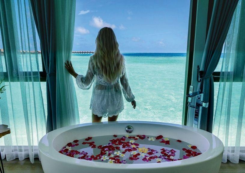 Island Resorts In The Maldives