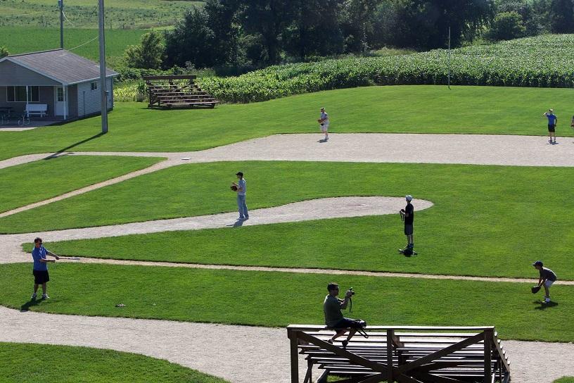 Baseball Field in Dyersville, Iowa