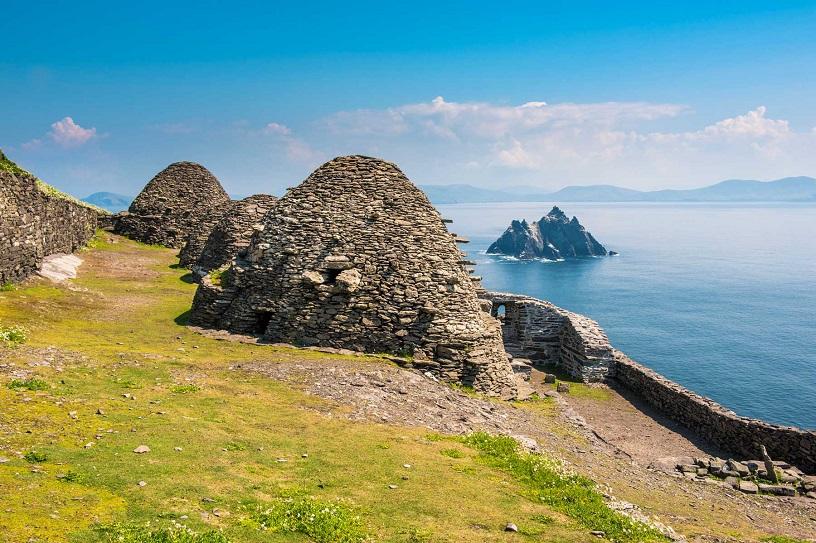 Skellig Michael (Great Skellig), Skellig islands, County Kerry, Munster province, Ireland