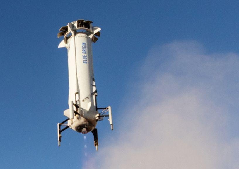 Jeff Bezos' Rocket To Space