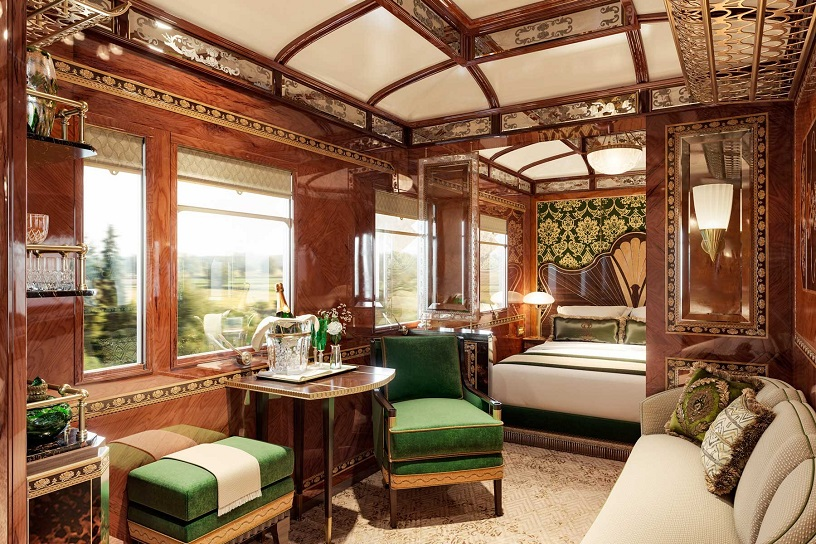Luxury trains in Europe