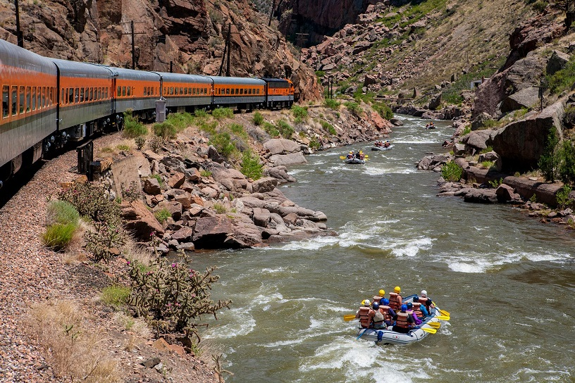 Rafting the Royal Gorge in Colorado