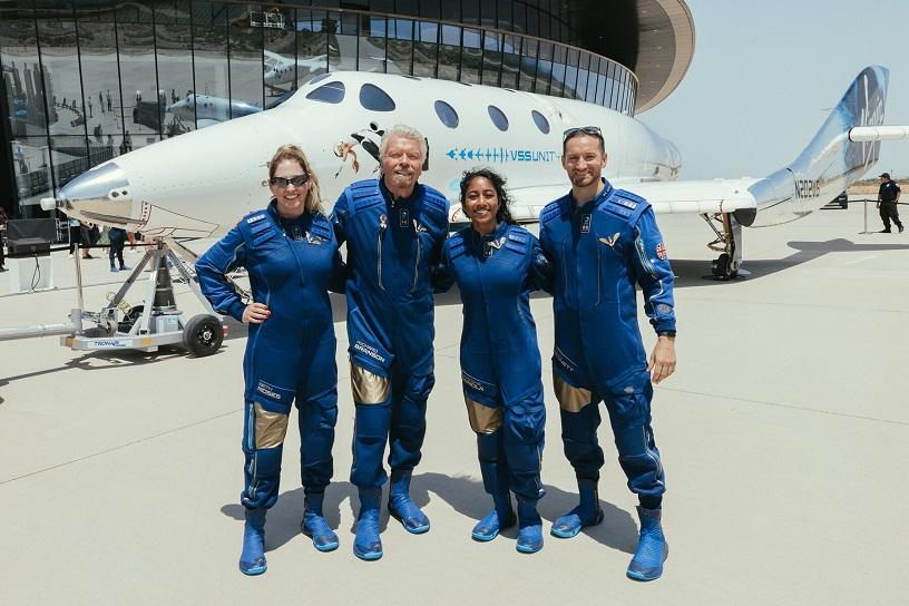Virgin Galactic team