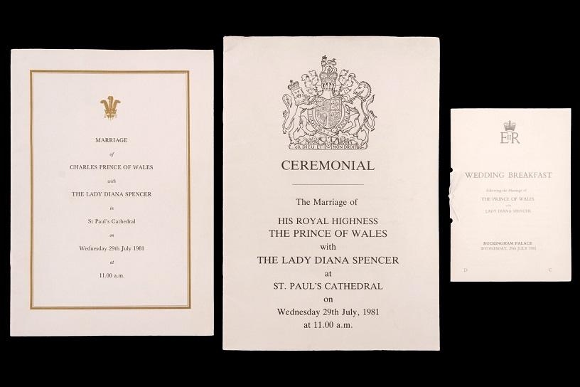 Cake From Princess Diana's Wedding