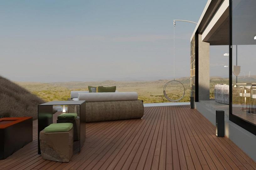 Safari Lodge In South Africa