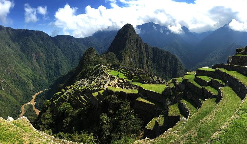 Virtual Walk-through of Machu Picchu