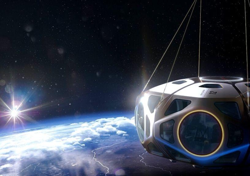 Space In Hot Air Balloon