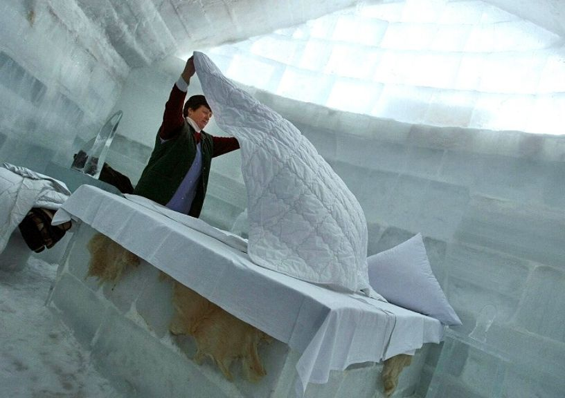 Ice Hotels